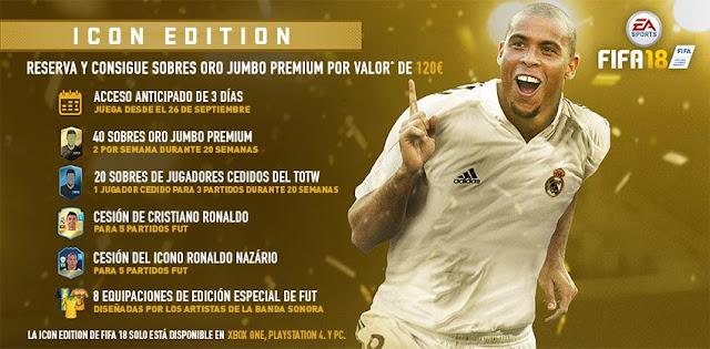 Primer tráiler y ediciones de FIFA 18, ¡Cristiano Ronaldo como portada!