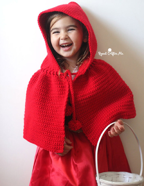 Little Red Riding Hood Cape - Free Pattern