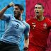 Portugal enfrenta Uruguai nas oitavas da Copa do Mundo
