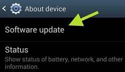 Update Software Android untuk Mengatasi Kamera Gagal di HP Samsung