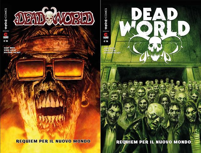 Deadworld: vintage e variant cover della nuova edizione italiana