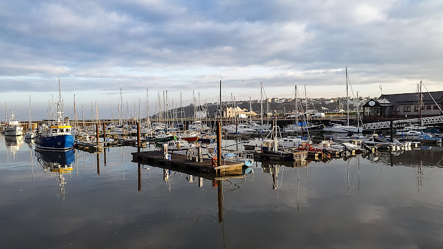 Photo of Maryport Marina in Cumbria