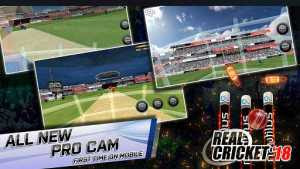 Real Cricket 3D 18 MOD APK+Data