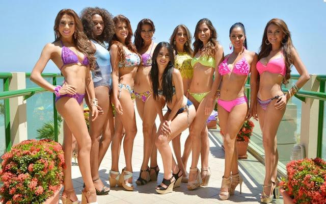 candidatas miss ecuador 2015