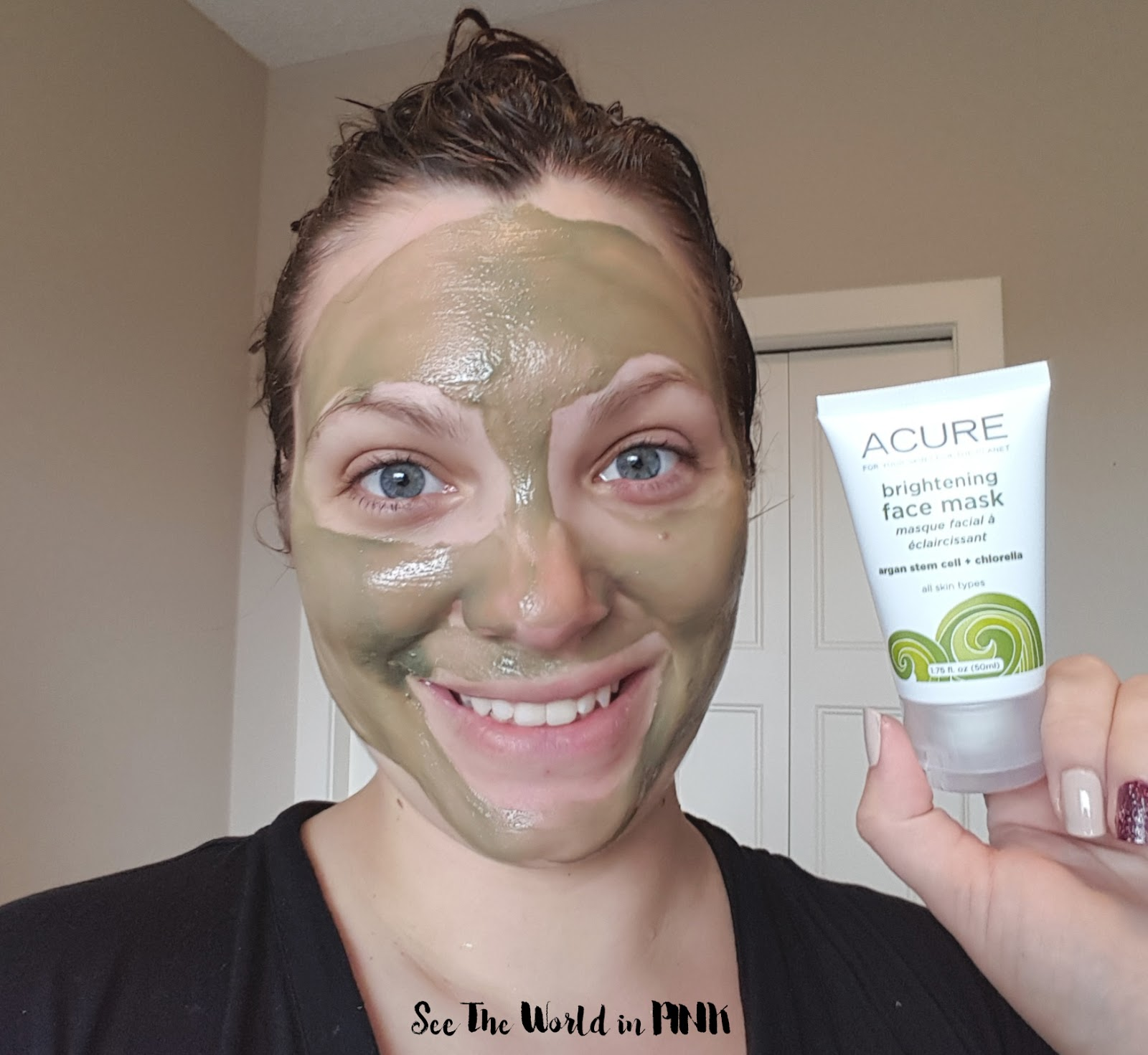 Mask Wednesday - Acure Organics Brightening Face Mask