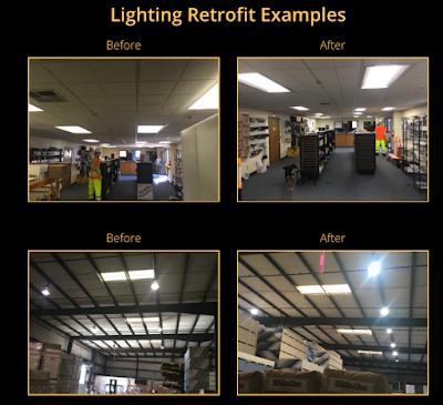 Lighting Retrofit Photos