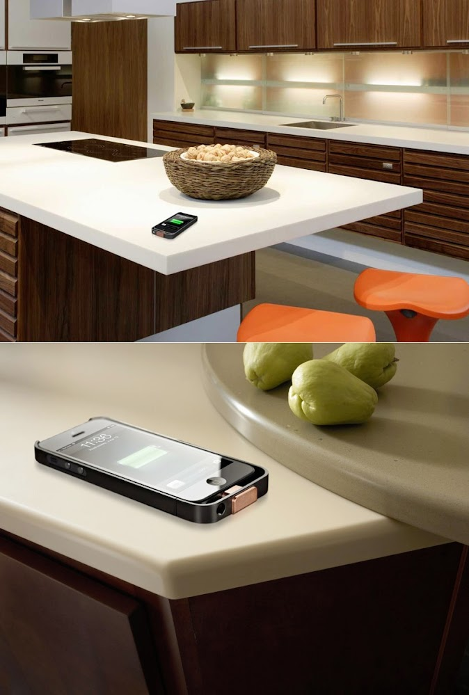 Wireless-charging-table