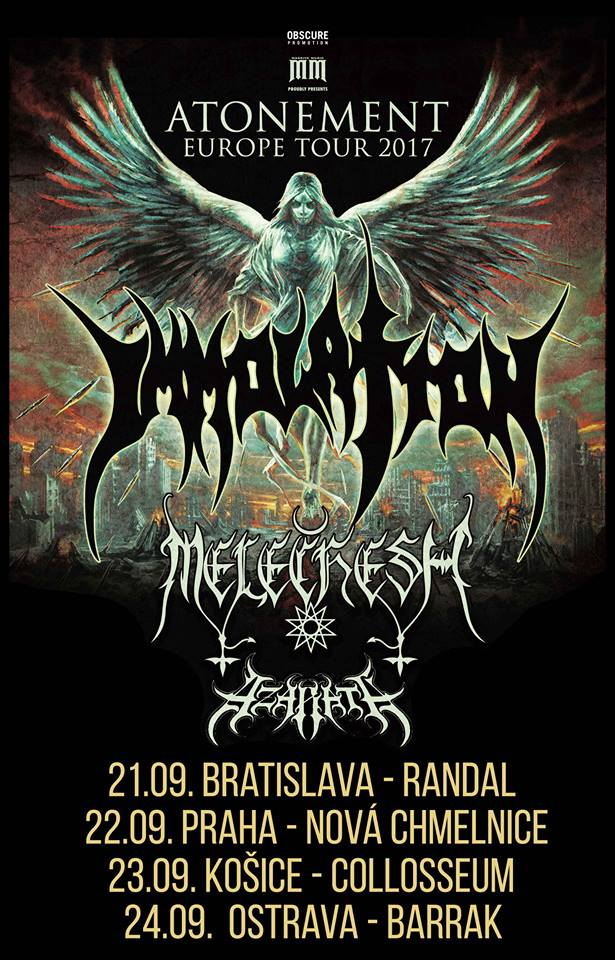 22.9. 2017 - IMMOLATION, MELECHESH, AZARATH