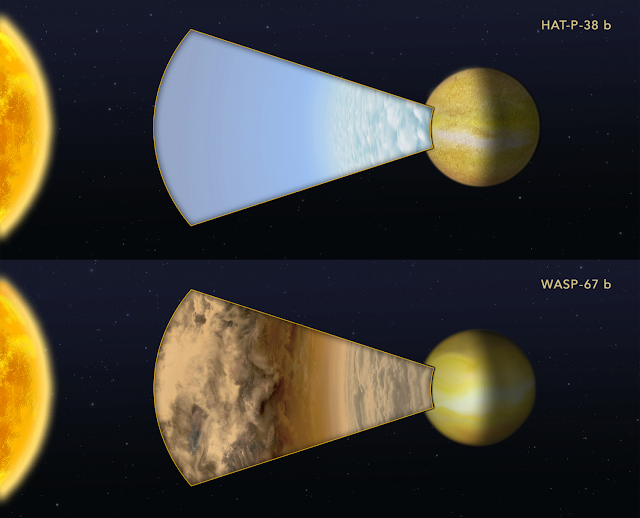 Hubble's tale of two exoplanets: Nature vs. nurture