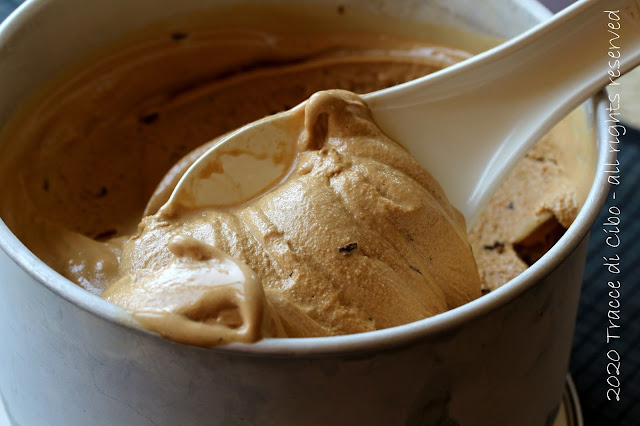 Gelato al caffè, gelato senza panna