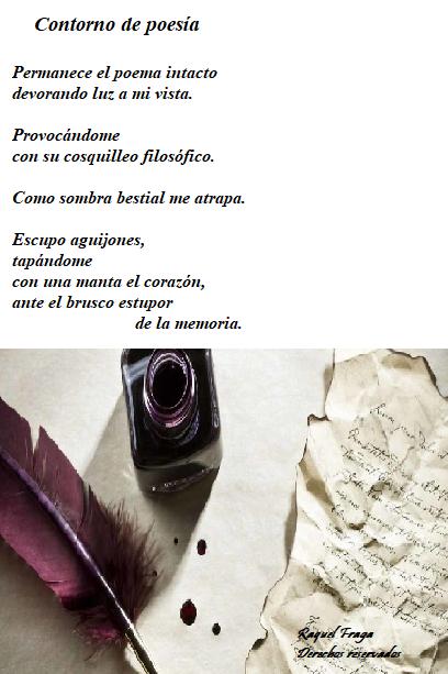 poema tinta pluma hoja de papel