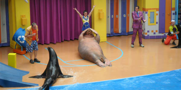 CLYDE AND SEAMORE´S SEA LION HIGH - SeaWorld Orlando