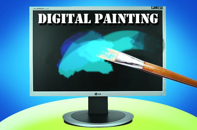 digital painting terbaik