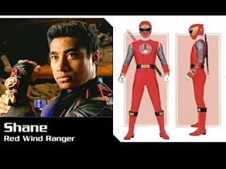 The Red Wind Ranger, Pua Magasiva.