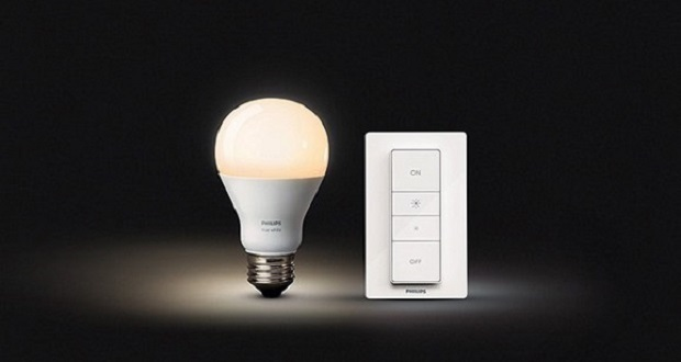 Smart bulb lamp technology of the future, ON / OFF using wireless