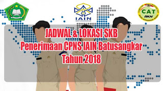 Pengumuman Jadwal, Tempat dan Perlengkapan Peserta Seleksi Kompetensi Bidang Penerimaan CPNS Tahun 2018