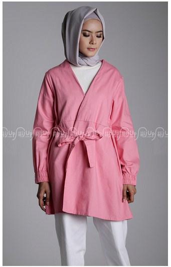 15 Koleksi Blazer Muslim Modern Korean Style 2017