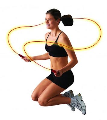 Bài tập giảm béo bắp chân bằng cách nhảy dây