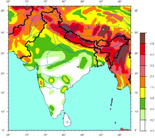 Seismic Hazard Map of India