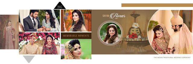 Wedding Album PSD Templates