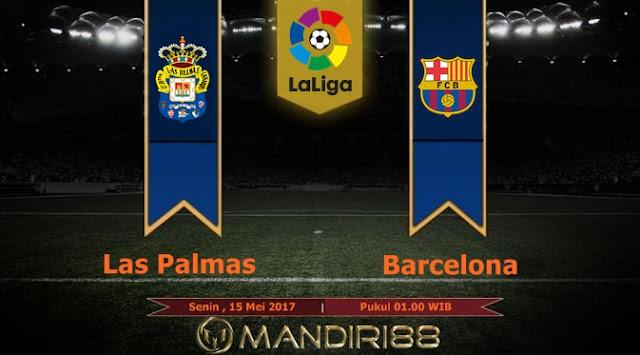 Prediksi Bola : Las Palmas Vs Barcelona , Senin 15 Mei 2017 Pukul 01.00 WIB