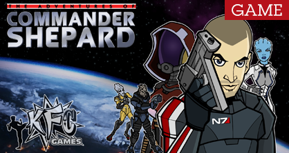 The Adventures of Commander Shepard