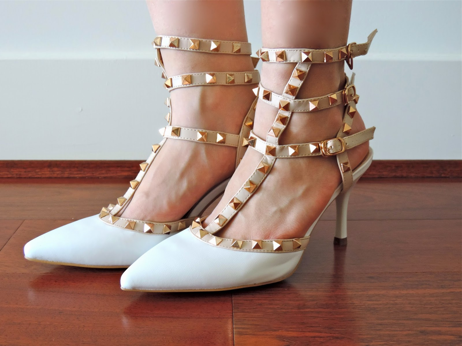Look for Less Valentino Studded Heels Sensible Stylista