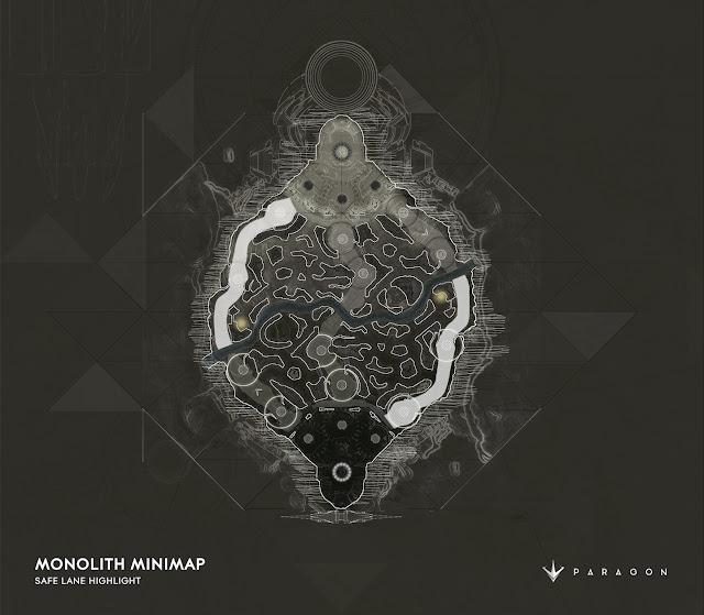 Monolith map safe line