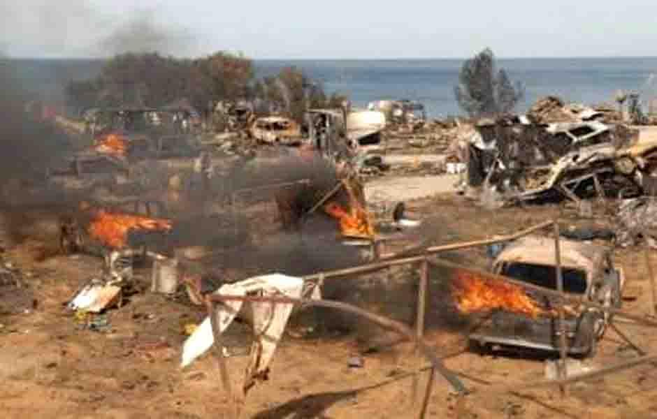 Memoria Grafica De Espana Alcanar Tarragona Accidente Del Camping De Los Alfaques
