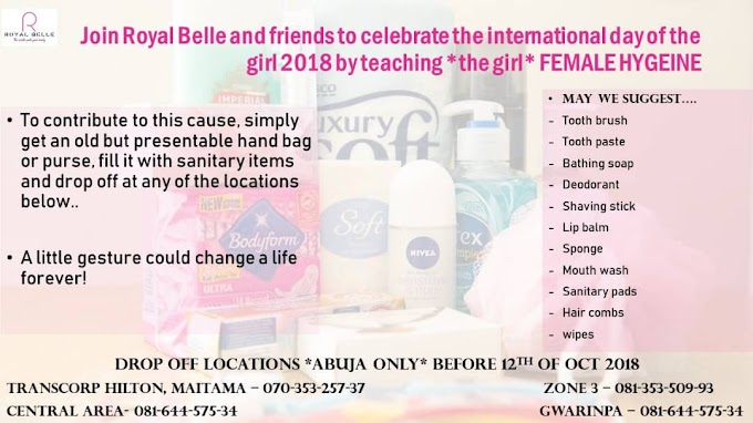 Celebrate The International Day Of The Girl Child, With @Royalbelleceo. Find Out How.