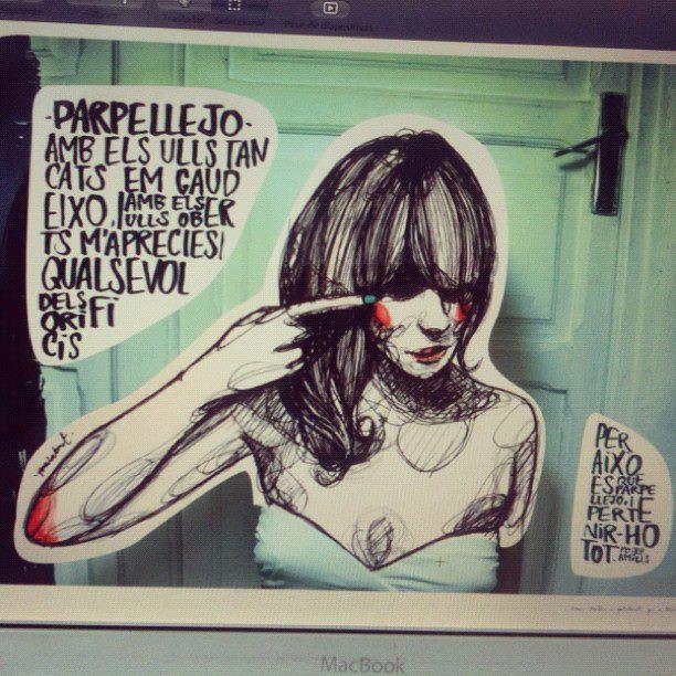 """Una ilustración de Paula Bonet para """"Parpellejo"""", un poema de """"Morbo"""""""