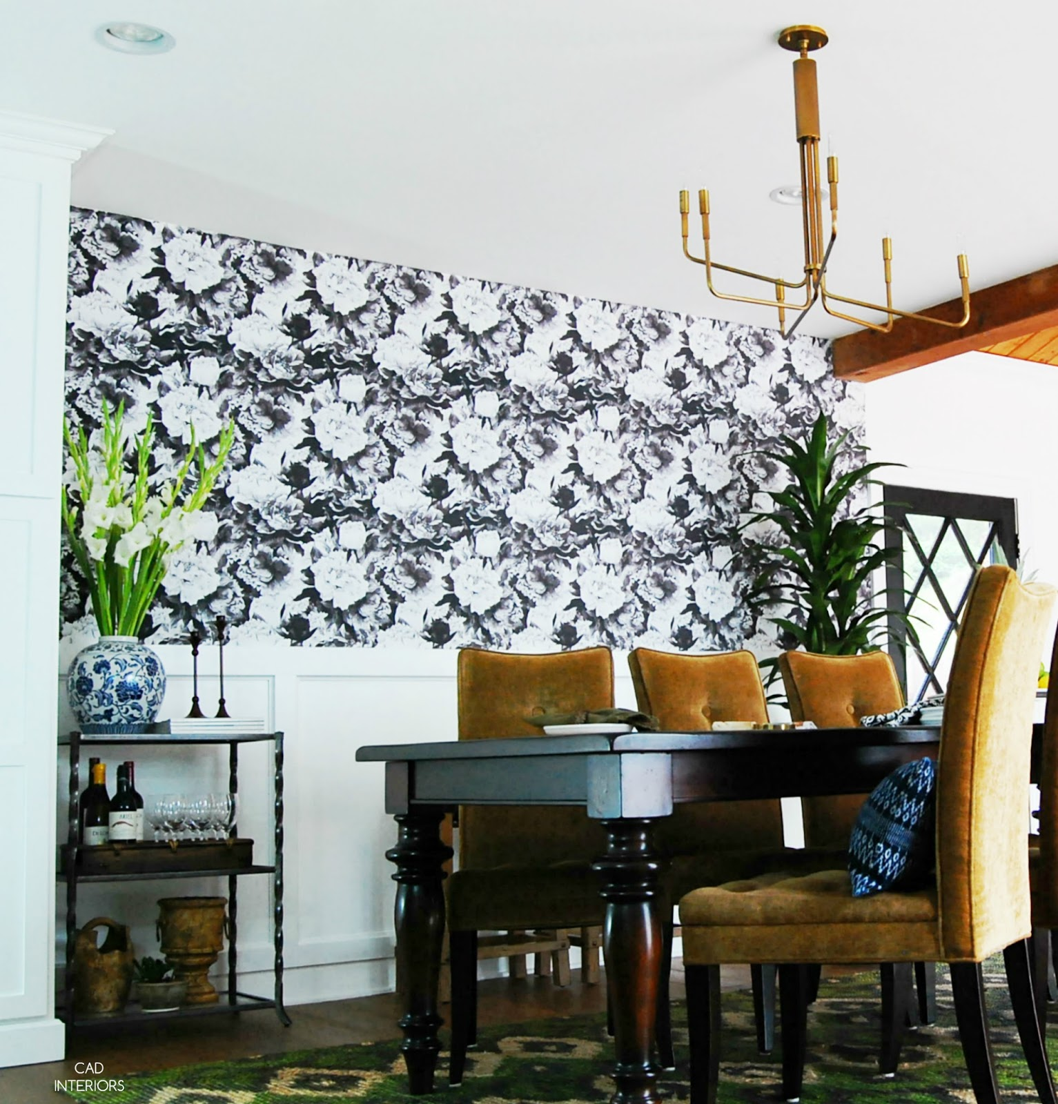 dining room makeover interior design mcm mid century modern transitional eclectic farmhouse