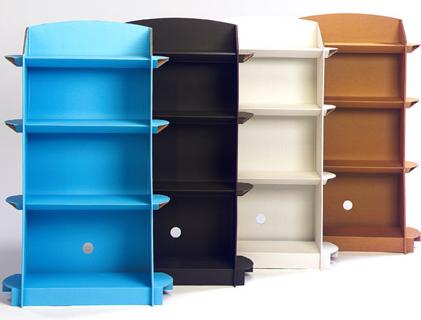 Shelves Made From Cardboard