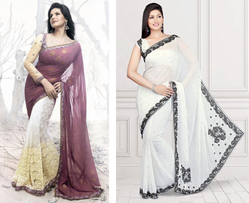 model baju sari india 2017