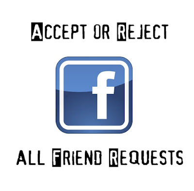 how to cancel friend request on facebook at once