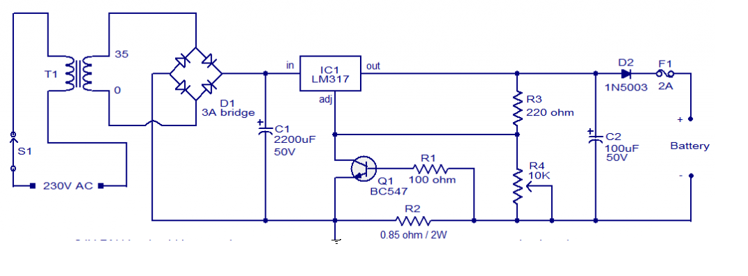Remarkable 24V Battery Charger Circuit Diagram Ac To Dc Battery Charger Wiring 101 Capemaxxcnl