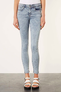 Topshop Bleached Skinny Jeans on Ses Rêveries
