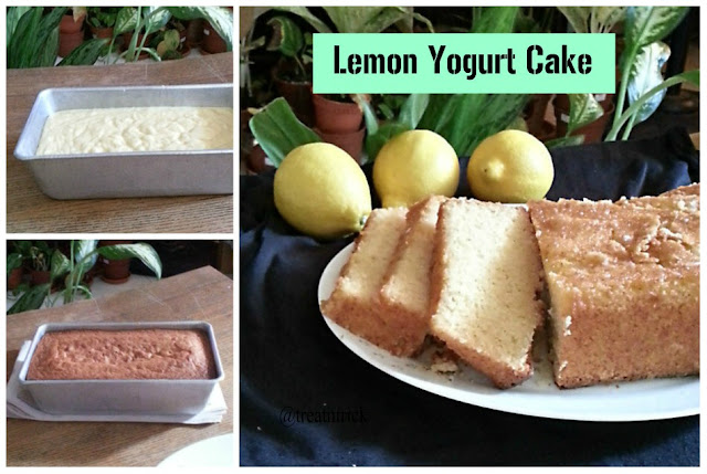 Lemon Yogurt Cake Recipe @ treatntrick.bkogspot.com