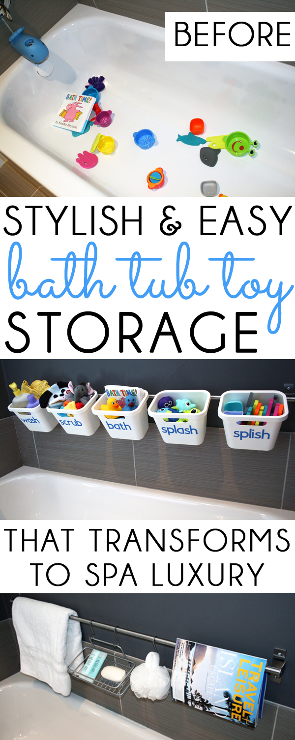 Bath Tub Toy Storage