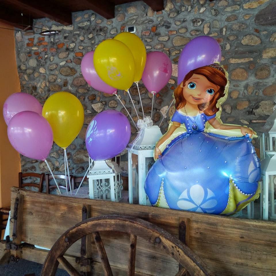 Preferenza Briciole di eventi!: Festa di compleanno a tema PRINCIPESSA SOFIA BZ88