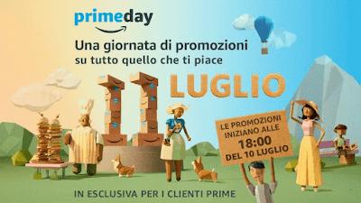 Amazon Prime Day: 10 luglio 2017