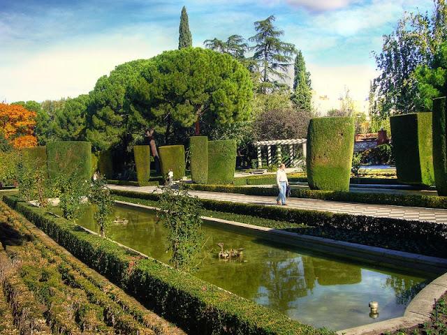 Jardines de Cecilio Rodríguez em Madri