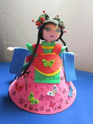 Muñeca de Madame Butterfly