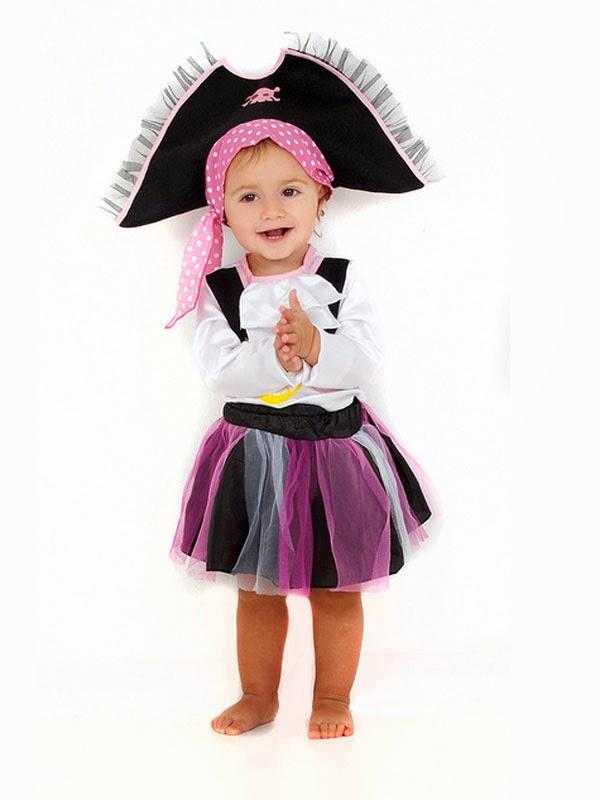 Los juegos de dragona disfraz sencillo de pirata para ni a - Disfraces para bebe nina ...