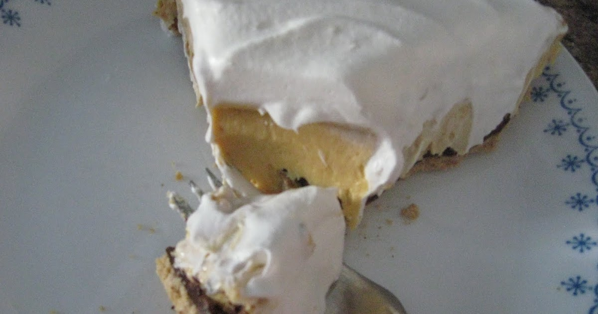 The Cooking Actress: Peanut Butter Cream Pie and ...