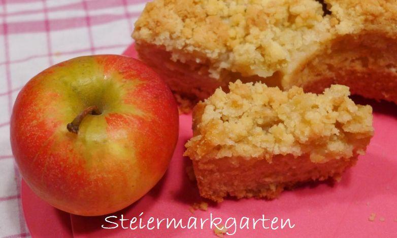 Apfelstreuselkuchen-Steiermarkgarten