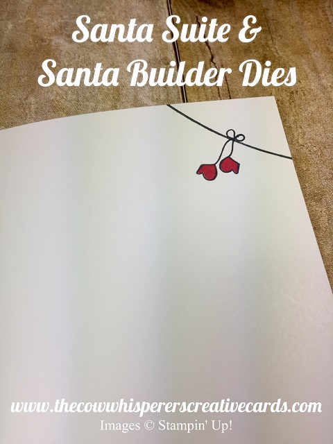 Card, Santa Suite, Santa Builder Framelits, Christmas