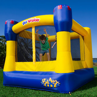 Enter to win your very own Air Walker Bounce Castle. Giveaway ends 6/20
