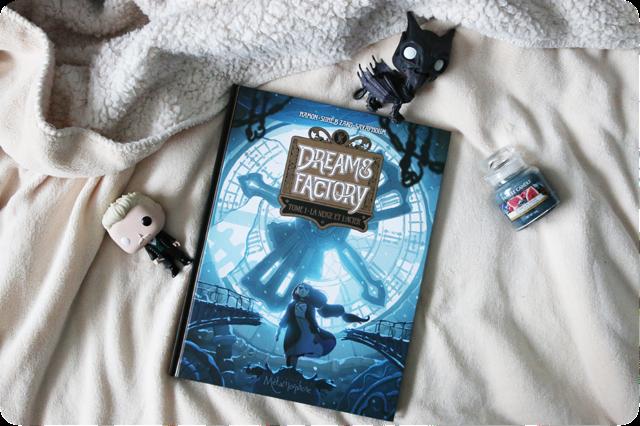 Dreams Factory, tome 1 : La neige et l'acier de Jérôme Hamon, Suheb Zako et Lena Sayaphoum