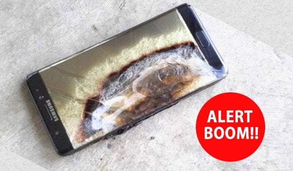 Cara Mengetahui Baterai Galaxy Note 7 Yang Rawan Meledak